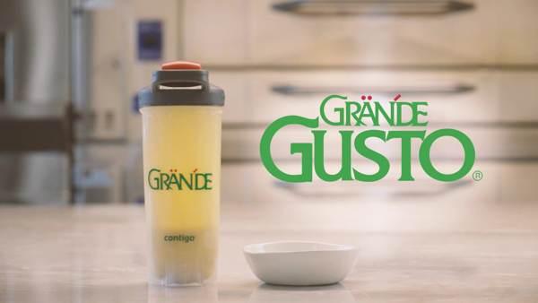 Grande gusto shaker and bowl
