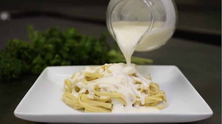 Improving Nutrition of Alfredo Sauce