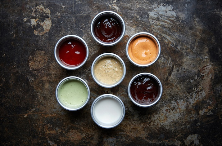 Creamy Summer Cookout Condiments