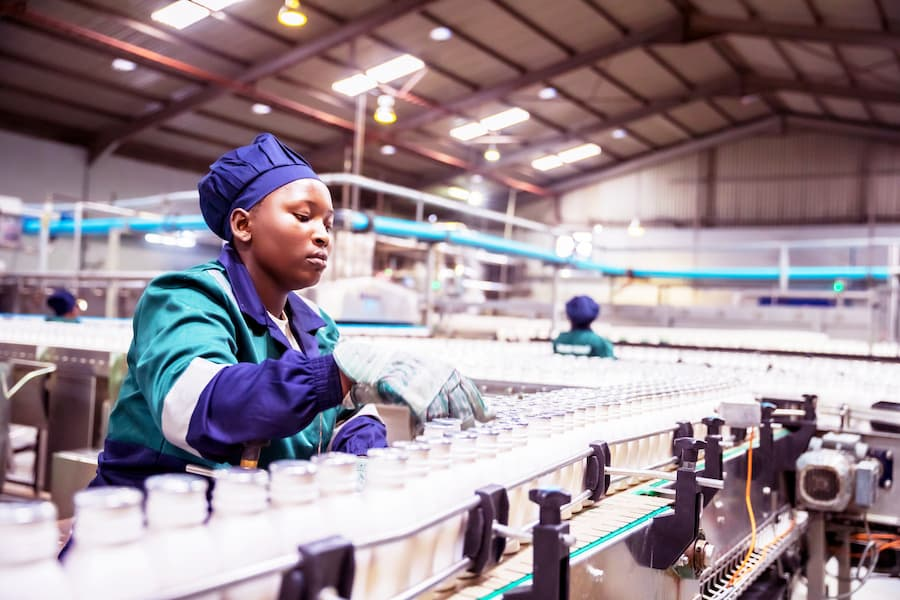 Supply chain and food manufacturer