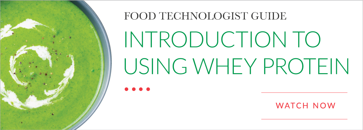 Whey Protein 101: An Introductory Guide for Food Technologists