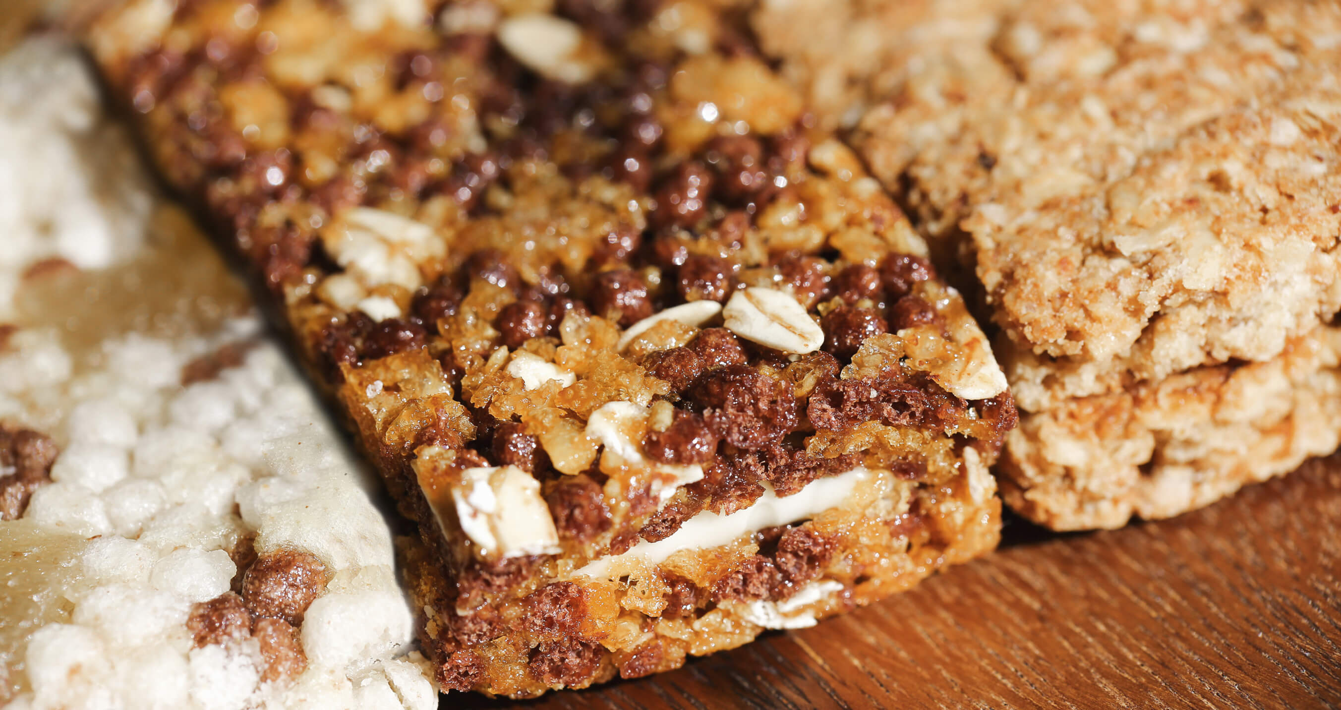 Snack bar nutrition improved with Grande WPCrisp Whey Protein Crisp